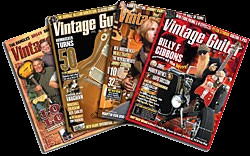 Vintage Guitar covers
